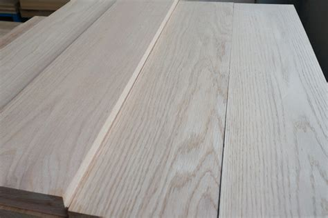 T&G unfinished oak hardwood flooring,solid white oak