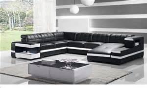 wohnzimmer wohnlandschaft moderne wohnlandschaft leder elegante wohnzimmer deko