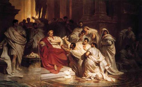 The Dictator Julius Caesar Thinglink Caesar Dictator Was Killed By 60 Conspirators Who Thinglink
