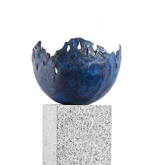 Feuerschale Klein by Rottenecker Feuerschale Klein Bronze Blau 22009