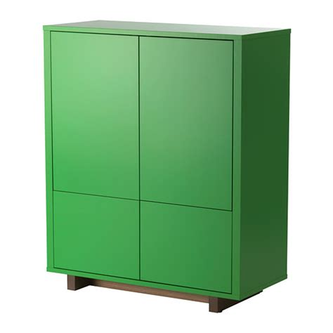 Green Cabinet by Stockholm Cabinet With 2 Drawers Green