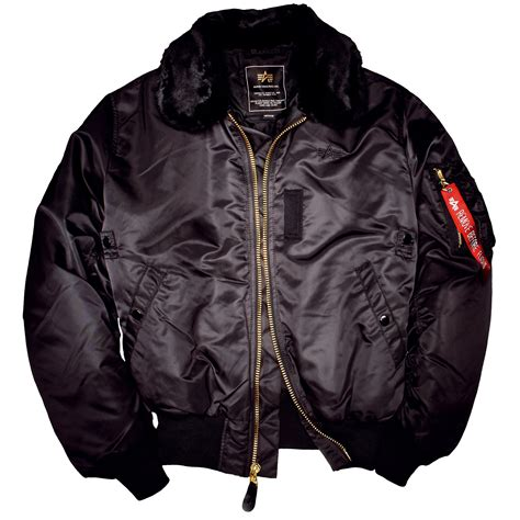 Jacket Bomber 2 alpha industries b 15 bomber jacket black