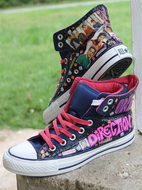 one direction shoes for 1d one direction fan custom clothes photo toms or vans