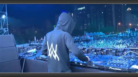 alan walker concert surabaya alan walker live in tour youtube
