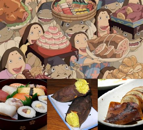 film anime cooking spirited away it s for the foodies