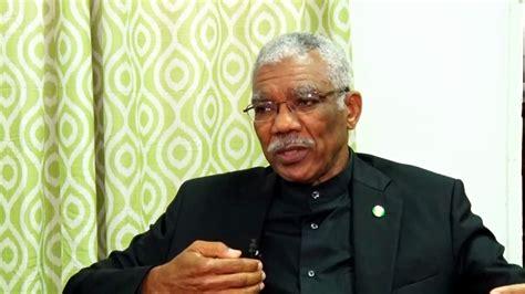 Guyana Cabinet by H E Brigadier David Granger President Of Guyana On