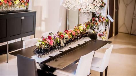 decoracion moderna decoraci 243 n navide 241 a moderna con flor de pascua centro 1