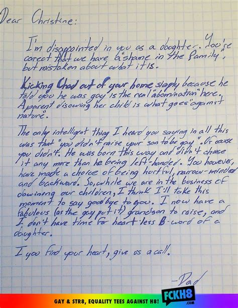 Confirmation Letter To Grandson Grandfather Stands Up For His Grandson