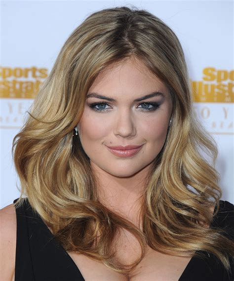 kate uptons hair colour kate upton long straight casual hairstyle dark blonde