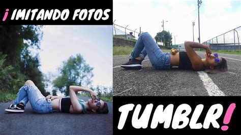Imagenes Tumblr En La Calle | imitando fotos tumblr en la calle jessie venturi youtube