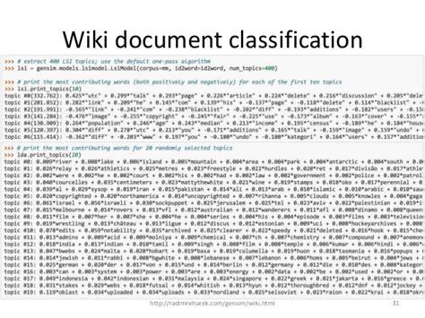 pattern classification python natural language processing and python