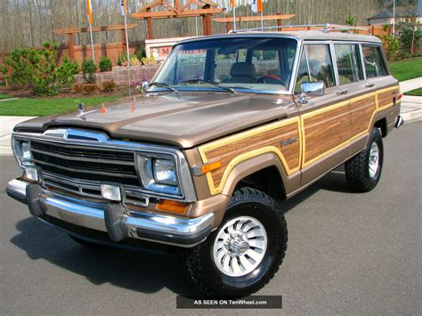 1988 jeep wagoneer 1988 jeep grand wagoneer information and photos momentcar
