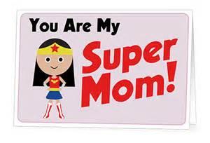 super mom card mom it forward