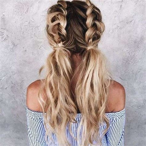 wemen with pleats in hair on pinerest peinados con trenzas alemanas fotos de los peinados foto