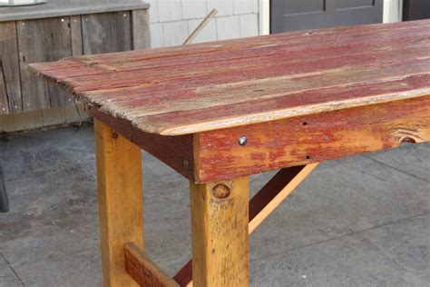 Barn Door Tables Quot Quot Barn Door Dining Table M Jones Creations