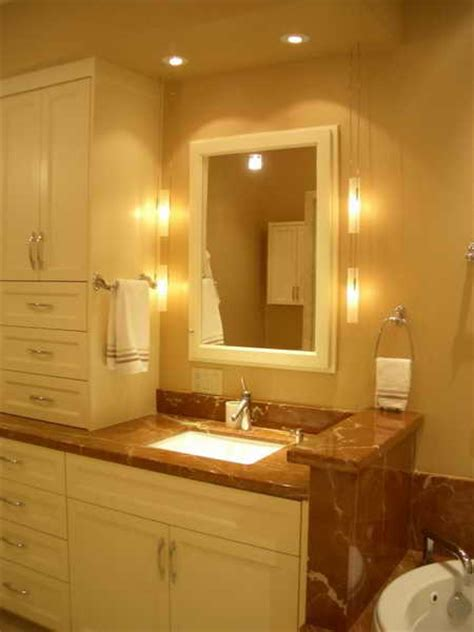 Bathroom Vanity Lighting Ideas And Pictures by Bathroom Remodeling Bathroom Vanity Light Install Ideas