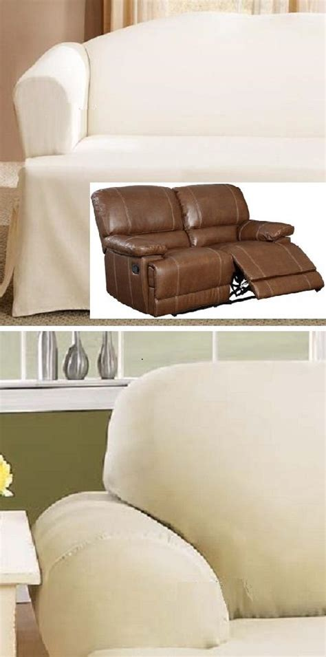 Slipcover For Dual Reclining Sofa 17 Best Images About Slipcover 4 Recliner On