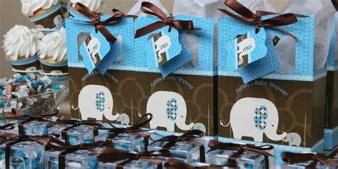 Baby Shower Boy Elephant Theme by Blue Baby Elephant Baby Shower Decorations Theme Babyshowerstuff
