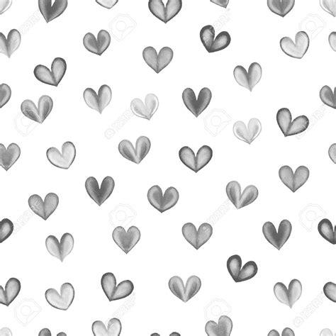 imagenes de corazones en blanco y negro fondos blanco y negro corazones acuarela fondos