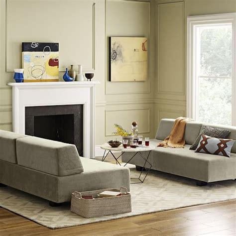 West Elm Origami Coffee Table - tillary 174 8 sectional west elm