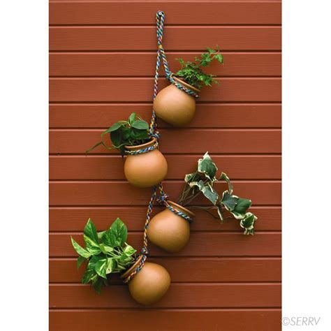 decorative hanging planters porch decor hanging herb planters