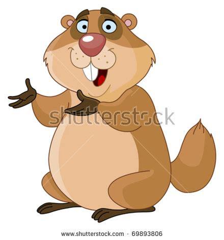 groundhog day emoji groundhog stock vector 69893806