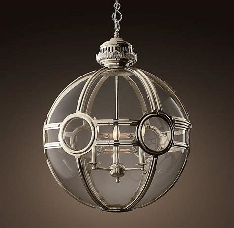 silver globe pendant light silver metal glass globe pendant