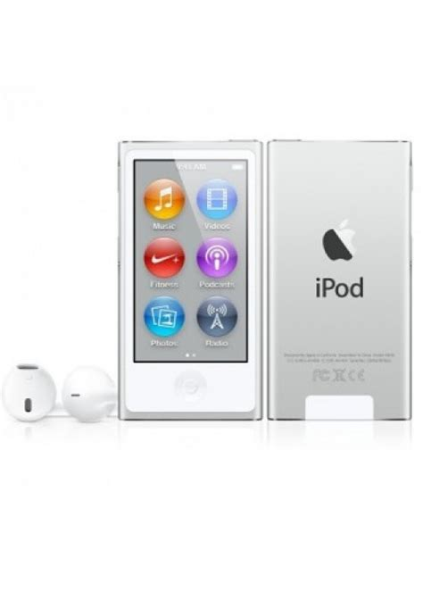 apple ipod nano 16gb silver 7th generation newest model