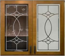 Sandblasting Kitchen Cabinet Doors by Cabinet Glass Sans Soucie Art Glass