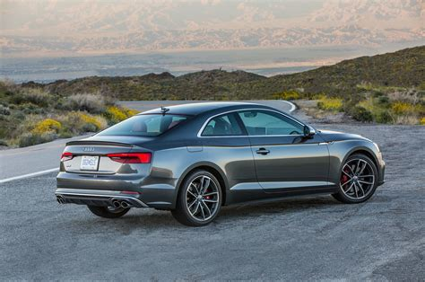 Audi Coupe S5 by 2018 Audi S5 Coupe Drive Review Automobile Magazine