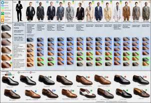 matching clothes colors a visual guide to matching suits and dress shoes