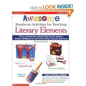 picture books for teaching setting literary elements teaching and activities on