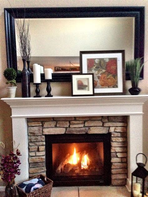 Decorative Wall Fireplace by 25 Best Ideas About Fireplace Mantel Decorations On