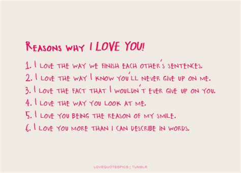 15 Reasons I My Husband by Reasons Why I You Quotes Quotes Pics Reasons