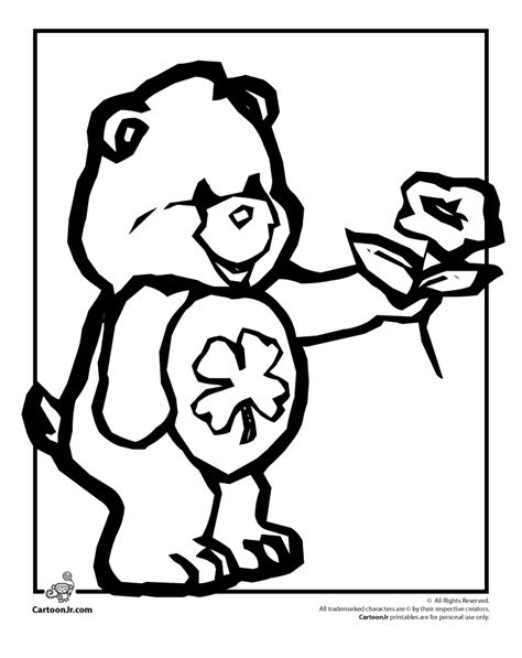 charlie bear coloring pages charlie bear free colouring pages