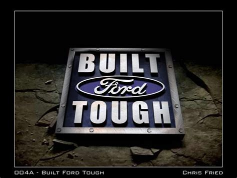 Built Ford Tough Logo by Built Ford Tough Logo 004a Built For Built Ford Tough