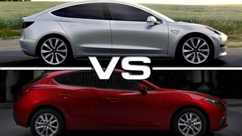 difference in mazda 3 models 5 pictures comparing tesla model 3 to other cars