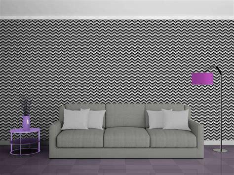 wandlen modern led lade da parete zig zag papel de parede chevron quarto