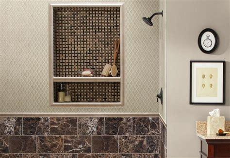 neutral decorative tile bathroom open tile shower ideas neutral shower tile ideas