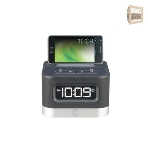 android clock radio ihome ic50 fm stereo alarm clock radio for android smartphones ihh601 appliances