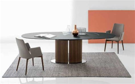 tavoli in vetro ovali tavoli da pranzo ovali