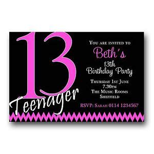 7 best images of free printable 13th birthday boy