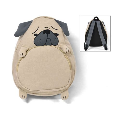 pug backpack harajuku animal pug backpack school bag 183 sanrense 183 store powered by