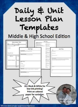 best 25 unit plan template ideas on pinterest lesson