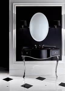 black lacquered console table bathroom console vanity by