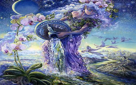 fantasy woman aquarius wallpapers fantasy woman aquarius
