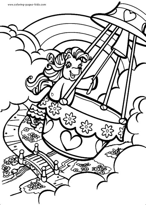 Printable My Little Pony Coloring Pages Images My Pony Characters Coloring Pages