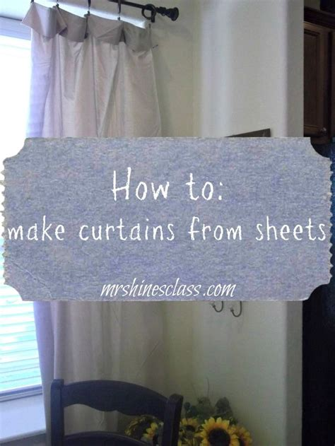 Best 20 Flat Sheet Curtains Ideas On Pinterest