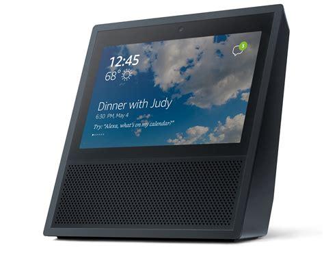 amazon echo show amazon unveils 230 echo show with 7 inch touchscreen