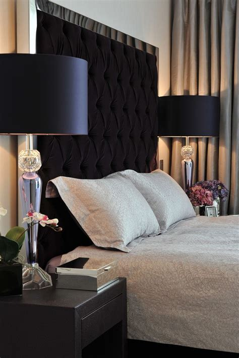 black headboard ideas best 25 black tufted headboard ideas on pinterest black